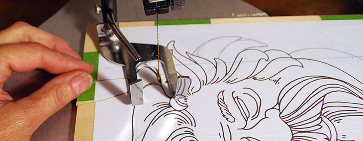 Cross-Crafting Seminar, Setting Up Your Scroll Saw