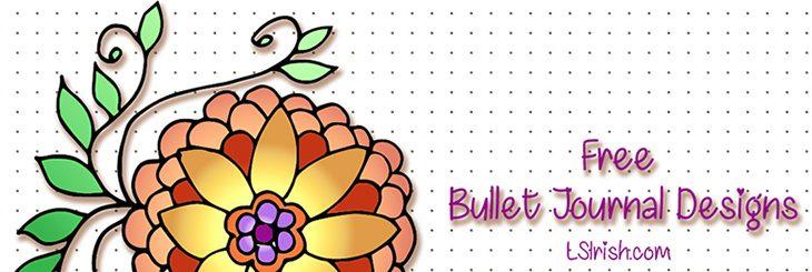 Doodle Day #3 Patterns for Bullet Journaling